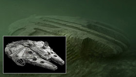 UFO na dně Baltského moře?! Záhadný objekt připomíná koráb ze Star Wars