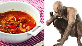 Děsivá historie gulášovek: »Ghúláš« jako pokrm pojídačů mrtvol