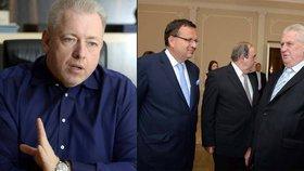 Zeman řešil s Mládkem OKD. S Chovancem probral uprchlíky, skauty uzavřeli