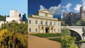 Nejkrásnější hrady a zámky Česka: Plzeňský a Karlovarský kraj