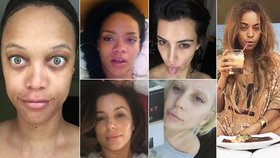 Eva Longoria, Beyoncé nebo Heidi Klum po ránu bez make-upu: Poznali byste je?