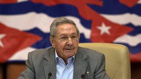Raúl Castro skončí jako prezident Kuby v dubnu. Volby odsunul hurikán Irma