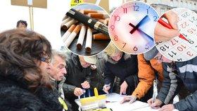 Zrušit letní čas, zachovat kouření, přejmenovat den. Poslanci řešili petice