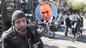 """Putinovi motorkáři chtějí opět do Prahy a Brna. """"Propaganda,"""" hřmí Štětina"""