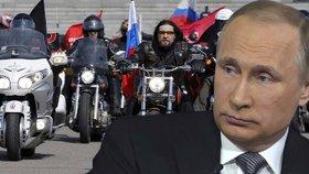 Putinovi motorkáři se dostali tajně na Slovensko: Míříme do Brna, hlásí