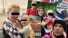 """""""Museli jsme unést vlastní děti."""" Michaláková s norskou sociálkou nebojuje sama"""