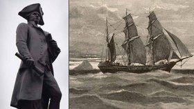 Legendární loď Jamese Cooka objevena? Archeologové našli vrak v zálivu v USA
