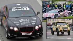 Gumball 3000 je v Česku! Luxusní auta boháčů buracejí metropolí