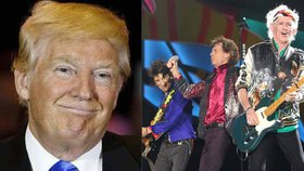 Rolling Stones se naštvali na Trumpa. Zakázali mu hrát jejich písně