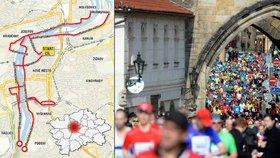 Pražský maraton v číslech: Několik tun banánů, 35 hudebních skupin a tisíce běžců