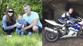 Nejznámější český pornoherec se zabil na motorce: Zůstal po něm syn a zoufalá přítelkyně