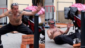 Pražský Bruce Lee: Narazil při lámání cihel