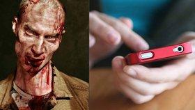 Fenomén smombie: Z lidí závislých na mobilech se stávají zombie