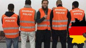 """Šaría policie """"úřadovala"""" v Německu: Islamisté nyní půjdou před soud"""