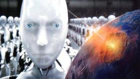 Jak přežít konec světa? Podle vědců se lidé nahrají do strojů!
