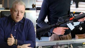 Bojujte proti zpřísnění kontroly zbraní, vyzývá ministry Chovanec