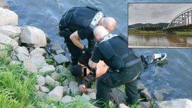Drama v Ústí nad Labem: Sebevrah (21) skočil z mostu