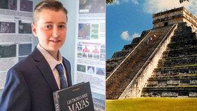 Kanadský teenager objevil ztracené město Mayů! Z pokojíčku pomocí hvězd a satelitních map