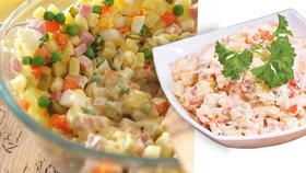 Pochoutkový, vlašský, pařížský! Jak se liší saláty a z čeho se vůbec vyrábí?