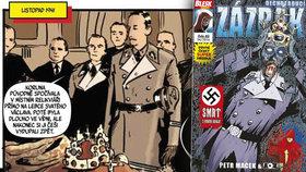 Zabily české korunovační klenoty nacistu Heydricha? Český komiks Zázrak má novou ďábelskou teorii!