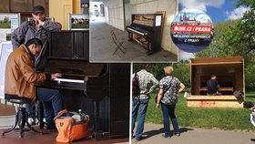 Najděte si své piano na ulici v Praze: Od parků až po nemocnice