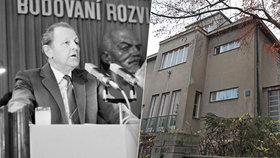 Jakešův kšeft s vilou: Koupil za 100 tisíc, prodal za 45 mega!