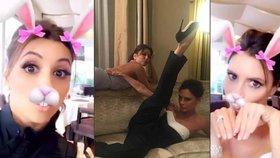 »Zoufalky« pařily v Cannes: Eva Longoria to rozjela s Victorií Beckham