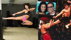 Jean-Claude van Damme má drsnou dceru: Karate zvládá úplně jako táta!