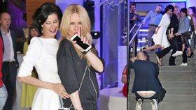 Simona Krainová s manželem na mejdanu! Podle fotek to byla neskutečně p**el!
