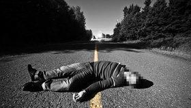 Kuriózní případ: Opilce našli na silnici zraněného, prý netuší, jestli upadl, nebo ho srazilo auto
