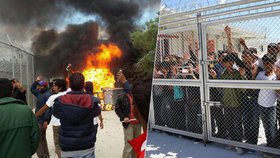 Beženci napadli v táboře experty včetně Čecha. Řecká policie prý přihlížela