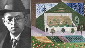 Nově objevený obraz Josefa Čapka: Vydražil se za 2,7 milionu