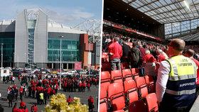 Teroristická hrozba v Manchesteru: Evakuovali stadion pro 80 tisíc lidí! Uvnitř našli podezřelý balíček