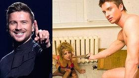 Sexuální skandál účastníka Eurovize: Nahý držel pilu u krku ženy připoutané k radiátoru