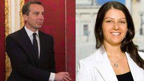 """Kancléřem Rakouska je """"pohledný Christian"""". Vládní služby povolaly muslimku"""