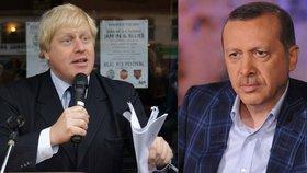 """""""Erdogan je onanista, co kozla oblažil."""" Klání básníků vyhrál exstarosta Johnson"""