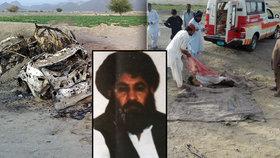Obávaný vůdce Talibanu je prý mrtev! Američani ho sejmuli dronem