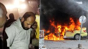 Krvavé pondělí na Blízkém východě: Bomby a atentátníci zabili stovky lidí