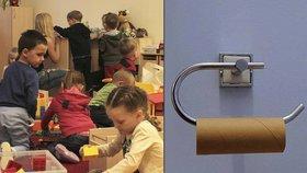 Pražské školky šetří, kde se dá: Rodiče dětem do školek dávají i toaleťák