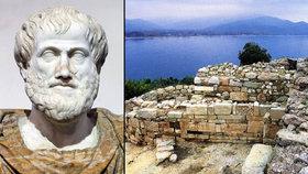 Archeologové jásají. Objevili hrob filozofa Aristotela tam, kde se narodil