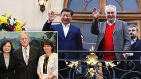 Do Prahy má přijet nová prezidentka Tchaj-wanu. Navzdory Zemanovi a Číně