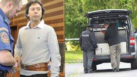Manévry kvůli bombě: Manželce zavražděného podnikatele Taubeho strčil někdo podezřelý balíček pod auto