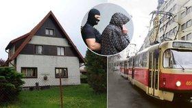 Kde se skrýval vrah z tramvaje č. 17? V chatě na Benešovsku