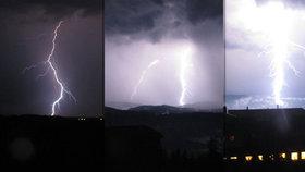 Extrémní déšť, hromy, blesky, povodně: Buďte opatrní, bouřky můžou i zabíjet