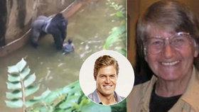 Odbornice na zvířecí chování: Gorilí samec by na dítě nezaútočil. Věděl, že je bezbranné