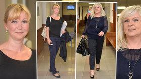 Módní policistka Rejžková: Kramného obhájkyni se nelíbilo oblečení advokátky Slámové