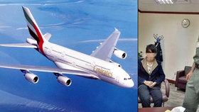 Číňan (16) letěl z Šanghaje do Dubaje v nákladovém prostoru letadla 8 hodin
