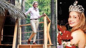 Kam zmizela Miss 1994 Eva Kotulánová? Dobře se vdala a staví domy na stromech!