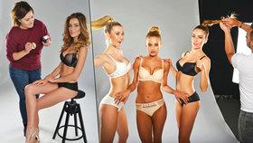 Missky se fotily v prádle: Nejlepší prsa má Andrea! Nos by ale potřebovala jiný...