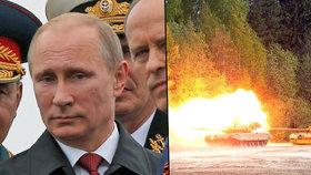 """Rusko slibuje """"horké léto"""": Má v plánu přes 2 tisíce vojenských cvičení"""